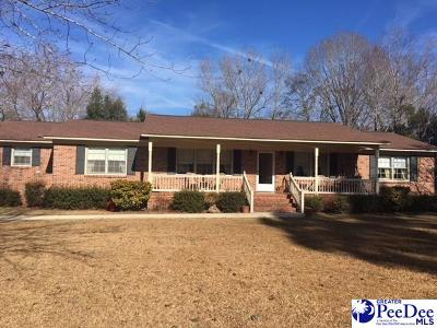 Hartsville Single Family Home For Sale: 2633 Pineland Circle