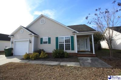 Florence SC Single Family Home For Sale: $119,900