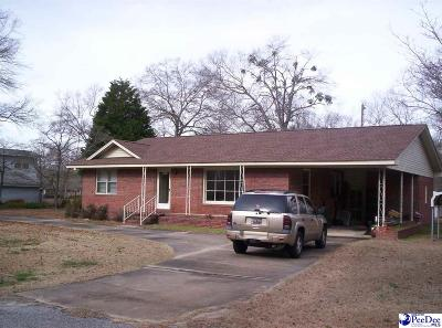 Hartsville Single Family Home For Sale: 1032 W Lydia Highway