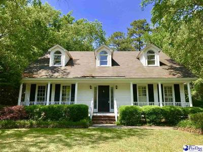Florence SC Single Family Home Uc/Show For Back Up: $179,900
