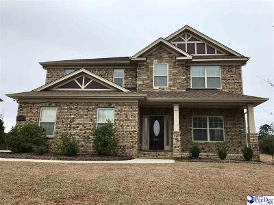 Florence Single Family Home For Sale: 1623 Lake Wateree Drive
