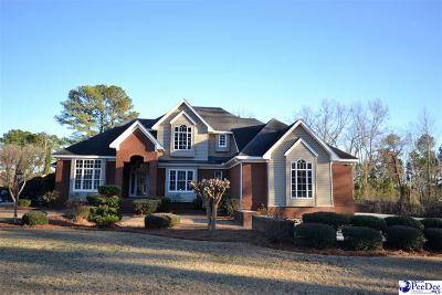 Florence SC Single Family Home Uc/Show For Back Up: $327,500