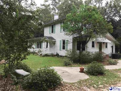 Hartsville SC Single Family Home Uc/Show For Back Up: $255,900