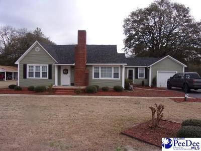 Hartsville Single Family Home Uc/Show For Back Up: 1010 Ousleydale Rd