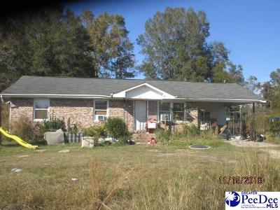 Dillon County Single Family Home Uc/Show For Back Up: 3210 Stackhouse Raod