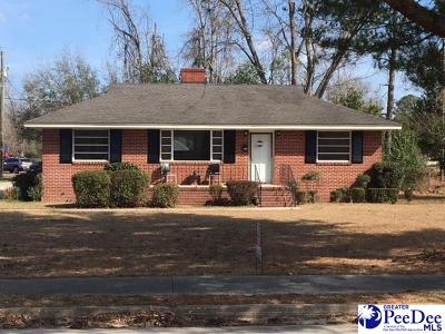 Hartsville Single Family Home For Sale: 205 Gandy Drive