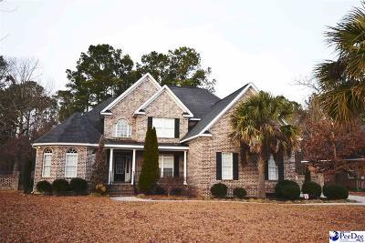 Florence SC Single Family Home Uc/Show For Back Up: $353,500
