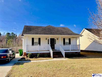 Florence SC Single Family Home For Sale: $124,900