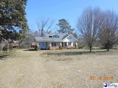 Hamer Single Family Home For Sale: 2112 Gaddys Mill Road