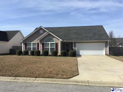 Florence SC Single Family Home New: $141,000