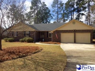 Hartsville SC Single Family Home Uc/Show For Back Up: $194,900