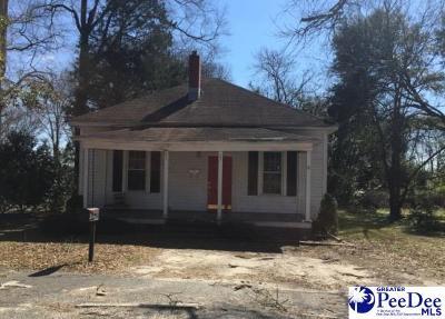 Bennettsville Single Family Home For Sale: 201 Henrietta Street