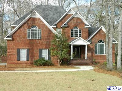 Florence SC Single Family Home New: $335,000