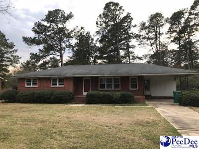 Florence SC Single Family Home New: $79,900
