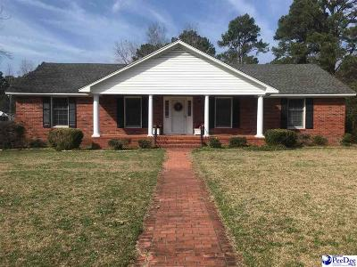 Timmonsville Single Family Home Uc/Show For Back Up: 321 W Byrd Street