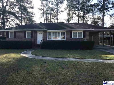 Florence SC Single Family Home For Sale: $99,900