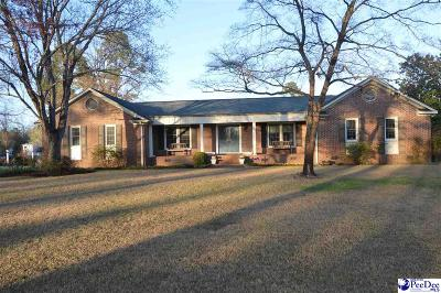 Hartsville SC Single Family Home For Sale: $278,900