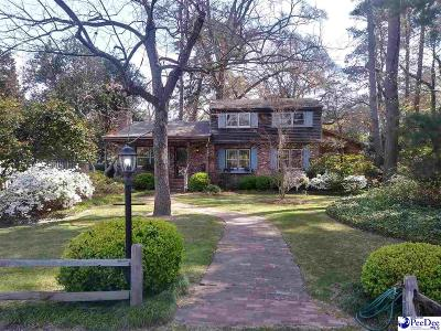 Florence Single Family Home For Sale: 816 Santee Drive