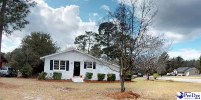 Hartsville Single Family Home Uc/Show For Back Up: 1123 Greenleaf Road