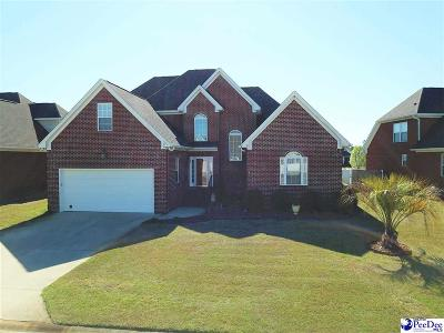 Florence Single Family Home For Sale: 4010 Lake Russell Drive