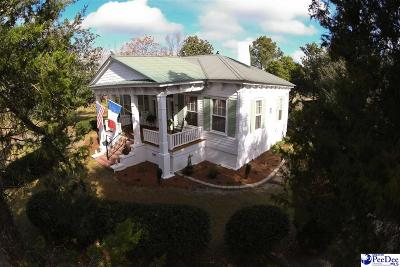 Hartsville Single Family Home For Sale: 1452 E Bobo Newsom Highway