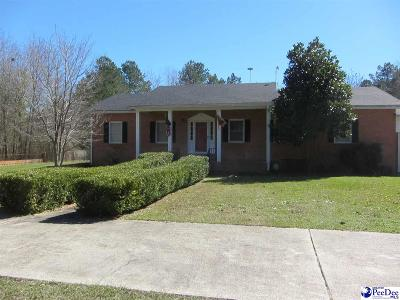 Hartsville Single Family Home Under Contingency Cont: 2737 New Hopewell Road