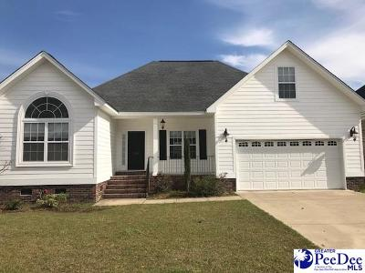 Florence SC Single Family Home Uc/Show For Back Up: $199,900