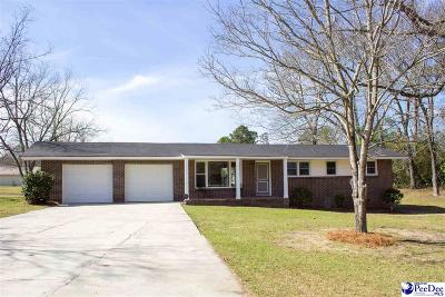 Florence Single Family Home For Sale: 2203 Lakeview Dr.