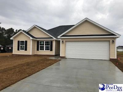 Florence SC Single Family Home Uc/Show For Back Up: $159,499