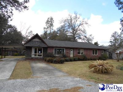 Kingstree Single Family Home Under Contingency Cont: 407 Williamsburg Drive