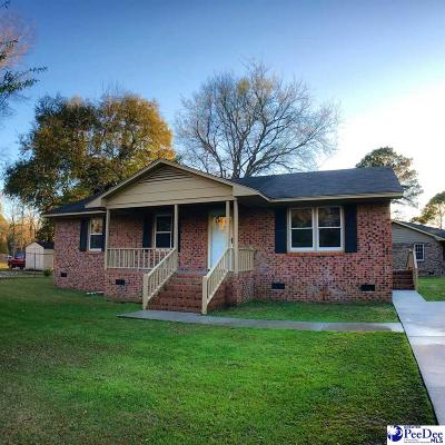 Darlington County Single Family Home Uc/Show For Back Up: 126 Coker