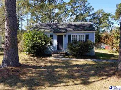 Florence Single Family Home For Sale: 817 Congaree Dr
