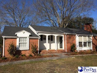 Hartsville Single Family Home For Sale: 318 W Richardson Circle