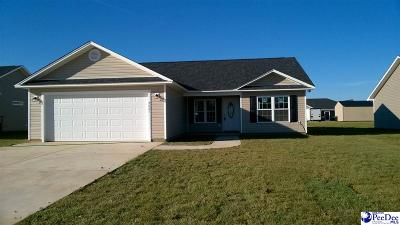 Florence SC Single Family Home Uc/Show For Back Up: $145,000