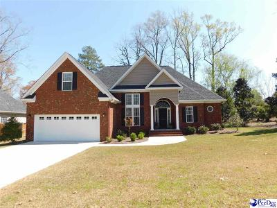 Florence County Single Family Home Uc/Show For Back Up: 1312 Cottingham Road