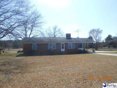 Bennettsville Single Family Home For Sale: 2070 W Highway 9