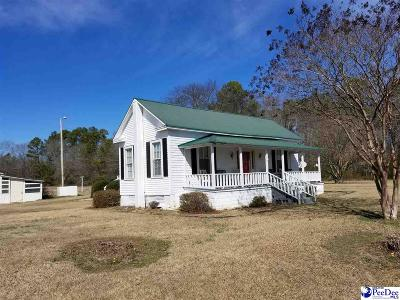 Bennettsville Single Family Home Uc/Show For Back Up: 3215 J Brigman Road