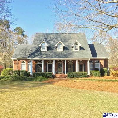 Florence SC Single Family Home Uc/Show For Back Up: $354,900