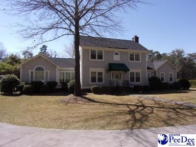 Hartsville Single Family Home For Sale: 510 Pressley Dr
