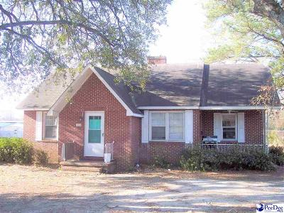 Dillon SC Single Family Home For Sale: $49,900