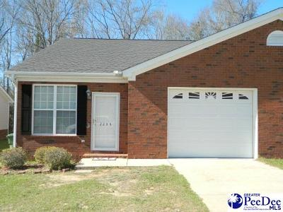 Florence SC Condo/Townhouse New: $93,000