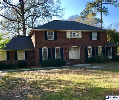 Florence SC Single Family Home For Sale: $299,000