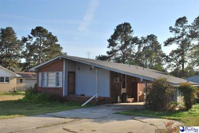Florence SC Single Family Home New: $49,000