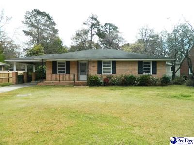 Florence SC Single Family Home New: $85,000