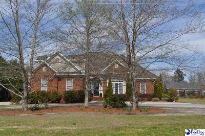 Marion Single Family Home Uc/Show For Back Up: 534 Luther Rogers Road