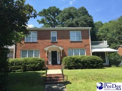 Florence Single Family Home For Sale: 353 Timrod Park Drive