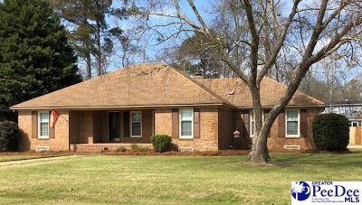 Florence SC Single Family Home For Sale: $210,000