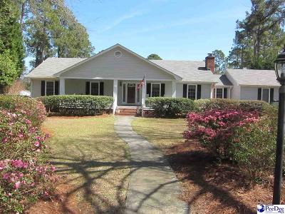 Hartsville SC Single Family Home For Sale: $215,775
