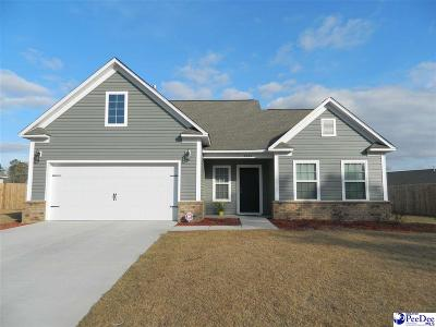 Florence SC Single Family Home Uc/Show For Back Up: $177,000