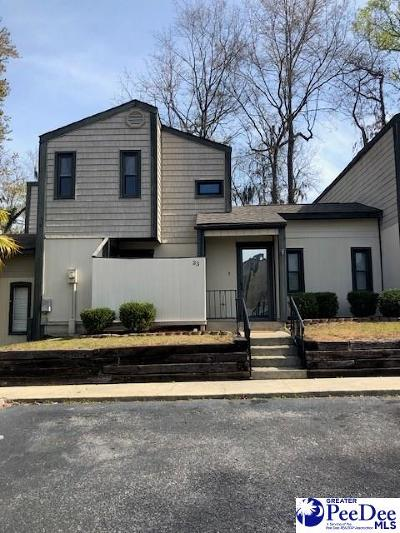 Florence SC Condo/Townhouse For Sale: $85,000